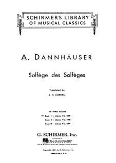 Сольфеджио: Книга I by Адольф Дангаузер