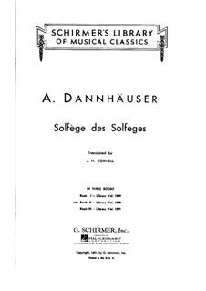 Сольфеджио: Книга II by Адольф Дангаузер