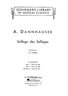 Сольфеджио: Книга III by Адольф Дангаузер