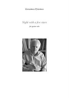 Night with a few stars: Night with a few stars by Gerasimos Pylarinos