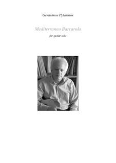 Mediterraneo-Barcarola: Mediterraneo-Barcarola by Gerasimos Pylarinos