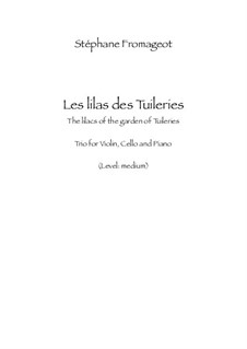Les lilas des Tuileries: Les lilas des Tuileries by Stéphane Fromageot