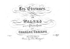 Двадцать четыре вальса для фортепиано 'Les Etrennes', Op.32: Двадцать четыре вальса для фортепиано 'Les Etrennes' by Карл Черни