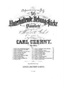 L'Encouragement à l'Etude, Op.684: Для фортепиано by Карл Черни