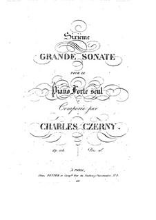 Соната для фортепиано No.6 ре минор, Op.124: Соната для фортепиано No.6 ре минор by Карл Черни