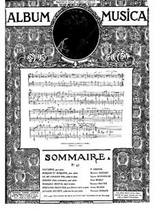 Joyeuse escorte: Для фортепиано by Родольф Берже