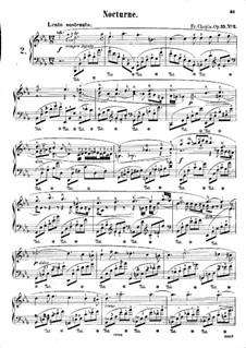 Ноктюрны, Op.55: No.2 ми-бемоль мажор by Фредерик Шопен