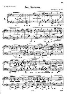 Ноктюрны, Op.62: No.1 си мажор by Фредерик Шопен