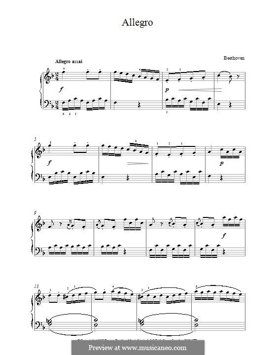 Сонатина фа мажор: Часть I by Людвиг ван Бетховен