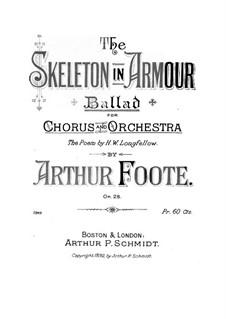 Скелет в доспехах, Op.28: Скелет в доспехах by Артур Фут