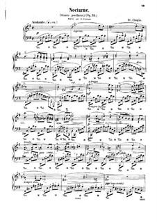 Ноктюрн ми минор, Op. posth.72 No.1: Для фортепиано by Фредерик Шопен