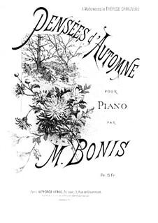 Мысли об осени, Op.19: Мысли об осени by Мел Бонис