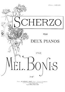 Скерцо для двух фортепиано в четыре руки: Скерцо для двух фортепиано в четыре руки by Мел Бонис