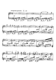 Баркарола No.12 ми-бемоль мажор, Op.106bis: Для фортепиано by Габриэль Форе