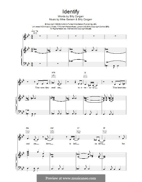 Identify (from Stigmata): Для голоса и фортепиано (или гитары) by Natalie Imbruglia