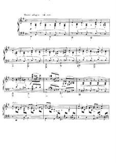 Ноктюрн для фортепиано No.10 ми минор, Op.99: Для одного исполнителя by Габриэль Форе