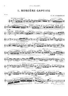 Три пьесы для флейты: Три пьесы для флейты by Пьер-Октав Ферру