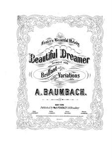 Блестящие вариации на тему С.Фостера: Блестящие вариации на тему С.Фостера by Фридрих Август Баумбах
