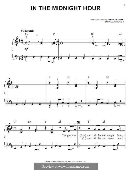 In the Midnight Hour: Для начинающего пианиста by Steve Cropper, Wilson Pickett