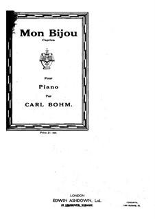 Mon Bijou: Mon Bijou by Карл Бём