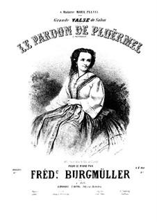 Le Pardon de Ploërmel. Grande valse de salon: Для фортепиано by Иоганн Фридрих Бургмюллер