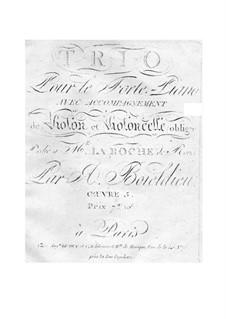 Фортепианное трио, Op.5: Фортепианное трио by Адриен Буальдье