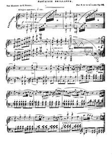 Блестящая фантазия на темы из оперы 'Эрнани' Верди, Op.92: Блестящая фантазия на темы из оперы 'Эрнани' Верди by Иоганн Фридрих Бургмюллер