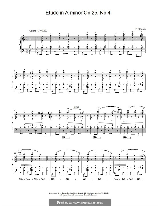 No.4 ля минор: Для фортепиано by Фредерик Шопен