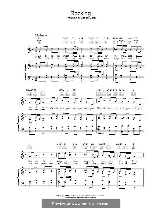 Rocking: Для голоса и фортепиано (или гитары) by folklore