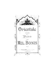 Orientale, Op.32: Orientale by Мел Бонис