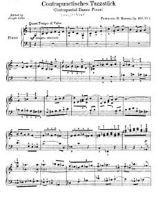 Две танцевальных пьесы для фортепиано, BV 235a Op.30a: Nr.1 Waffentanz by Ферруччо Бузони