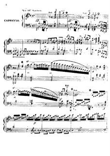 Каприччио, Op.104: Каприччио by Фридрих Калькбреннер