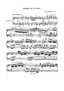 Интродукция и рондо, Op.52: Интродукция и рондо by Фридрих Калькбреннер