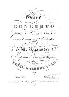 Фортепианный концерт No.1, Op.61: Клавир by Фридрих Калькбреннер