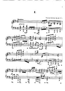 Четыре полонеза, Op.43: Четыре полонеза by Теодор Кирхнер