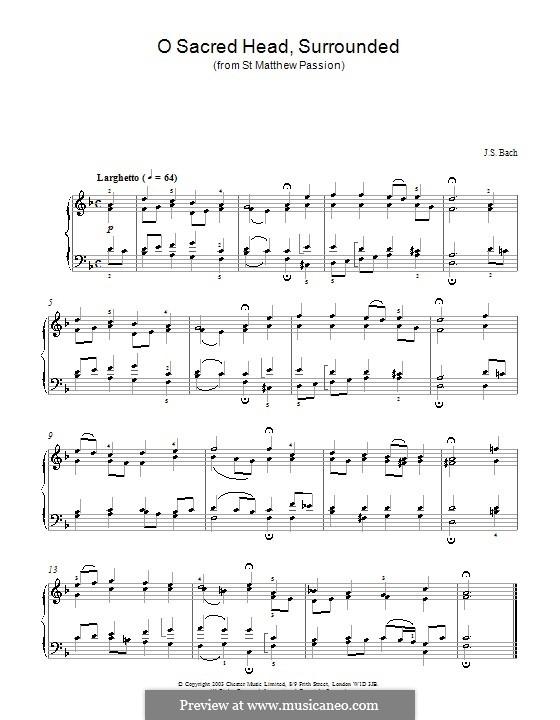 Часть I: No.23. Хорал, для фортепиано by Иоганн Себастьян Бах