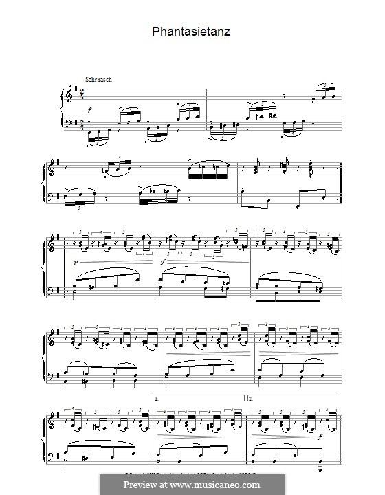 Листки из альбома, Op.124: No.5 Фантастический танец by Роберт Шуман