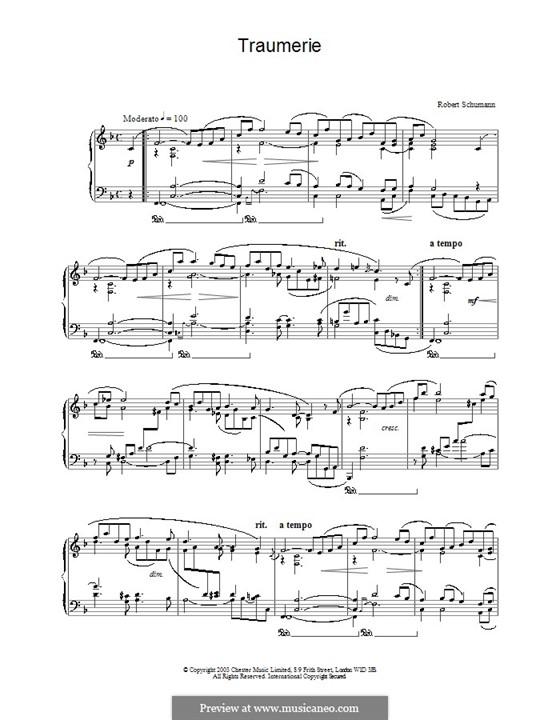 No.7 Грезы: Для фортепиано by Роберт Шуман