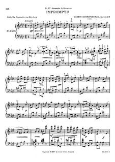 Экспромт, Op.47: Экспромт by Арсений Корещенко