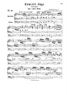 Концертная фуга, Op.1: Концертная фуга by Отто Динель