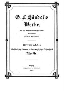 Альцеста, HWV 45: Действие I, IV by Георг Фридрих Гендель