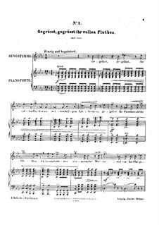 Мартовские цветы. Шесть песен, Op.2i: Мартовские цветы. Шесть песен by Феликс Дрезеке