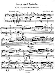 Соната в стиле фантазии, Op.6: Соната в стиле фантазии by Феликс Дрезеке